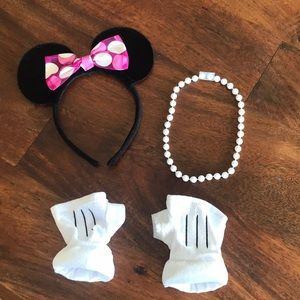 Other - Minnie Mouse Costume Accessories Child Size 3/4T